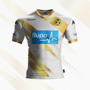 Official Kappa Match Shirt White